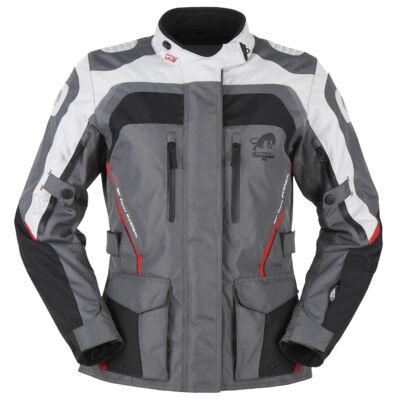 Furygan Apalaches NŐI 4 évszakos motoros kabát, Fekete-szürke-piros, Airbag ready