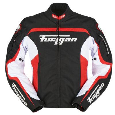 Furygan Diablo férfi motoros kabát, szellőzőkkel, thermo béléssel