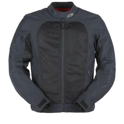 Furygan Genesis Mistral Evo 2 nyári motoros hálós kabát, Kék-fekete, Airbag ready