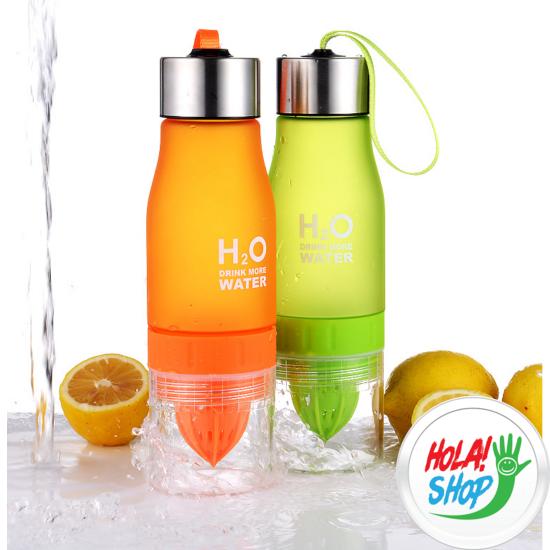 H2O Sport italtartó, citrus facsaróval, több színben.