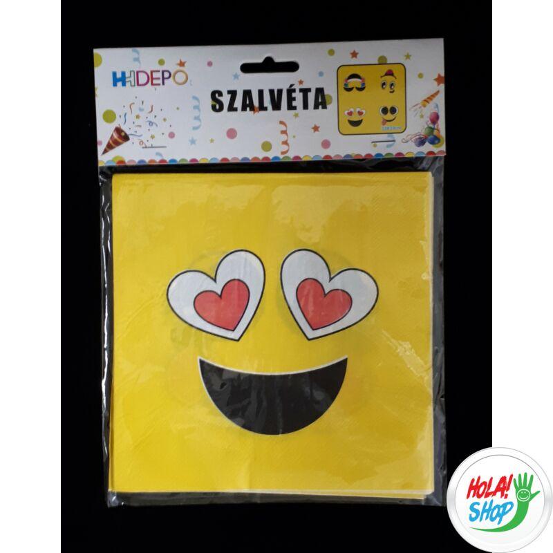 130493_szalveta_emoji_10_db_csomag_33_33cm