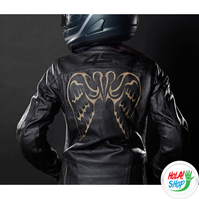 4SR Angel Wings női motoros bőrkabát