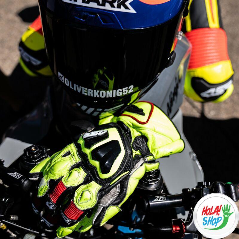 4SR Stingray Race Spec Yellow verseny bőrkesztyű