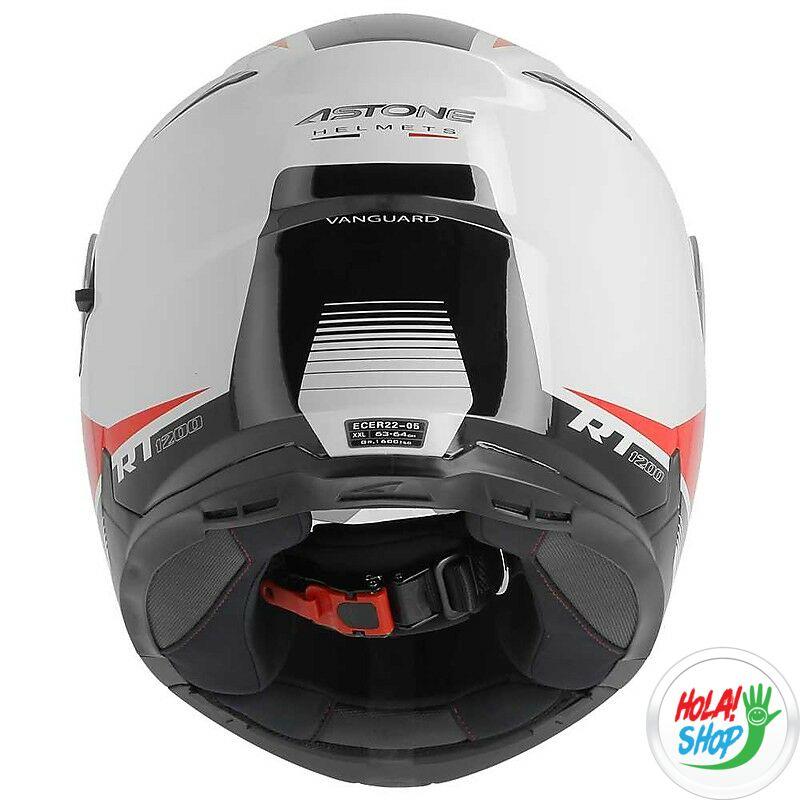 Astone RT 1200 felnyitható bukósisak Fehér Piros