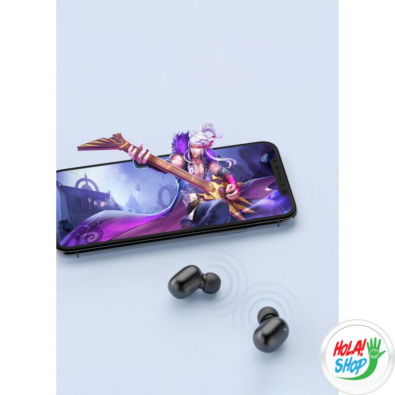 Haylou GT1 vezetéknélküli fülhallgató, Wireless earphones, Bluetooth 5.0, TWS (Black)