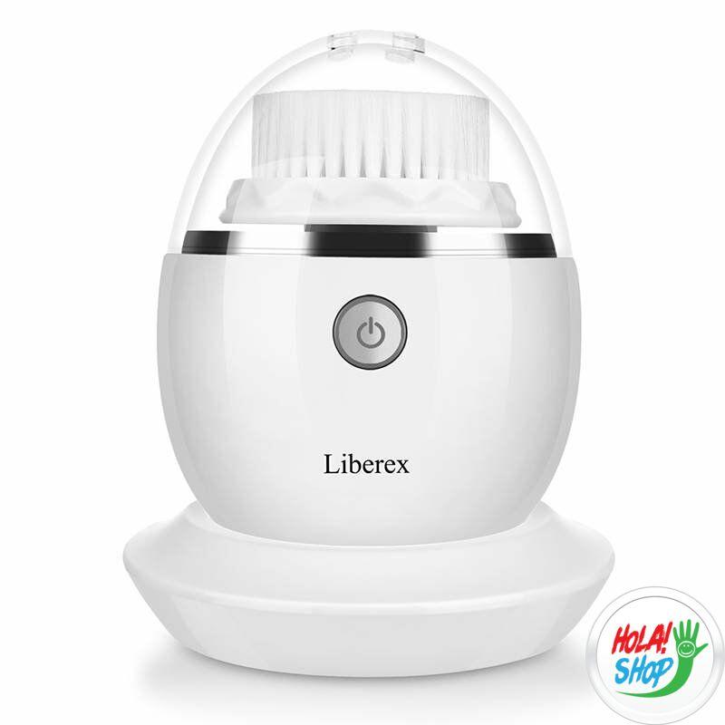 Liberex tojás, vibrációs arctisztító kefe, fehér