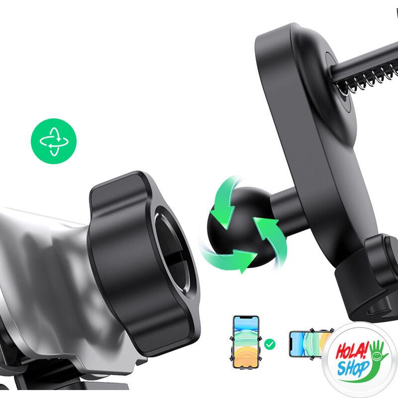 Ugreen szellőzőrácsra helyezhető telefontartó, LP228