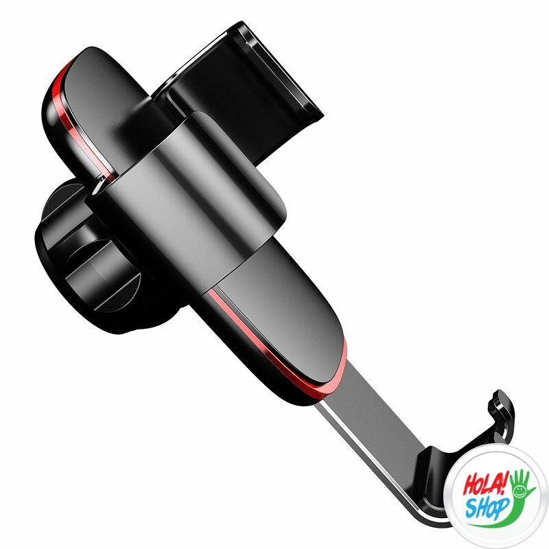 Baseus szellőzőrácsra helyezhető telefontartó, plus, fekete, Gravity Metal Age (SUYL-D01)