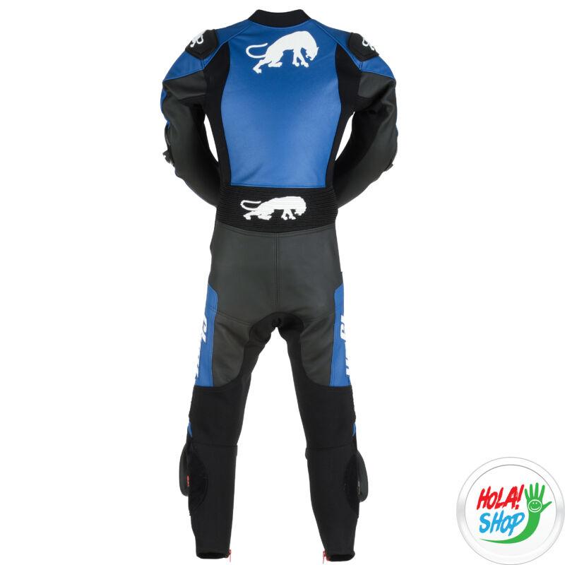 Furygan Combi KID Evo, gyerek motoros versenyruha 6-12 éves, fekete-kék-fehér