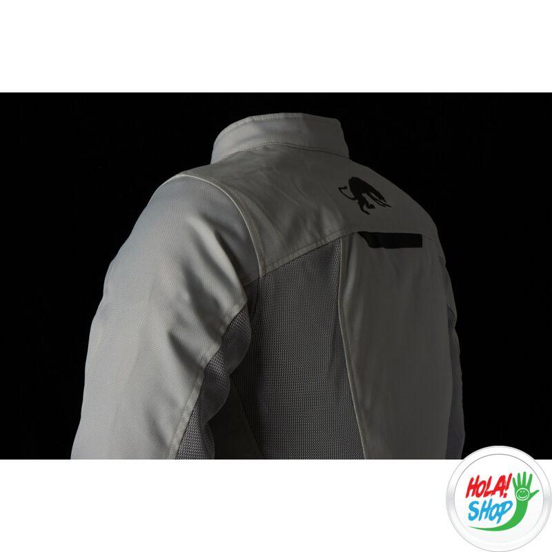 Furygan Genesis Mistral Evo 2 nyári motoros hálós kabát, Pearl-White, Airbag ready