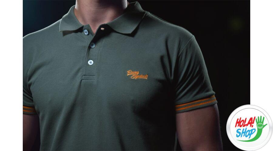 ba9e85289f 4 SR motoros ruházat, T shirt RS Polo Army / Galléros, 4SR Hungary ...